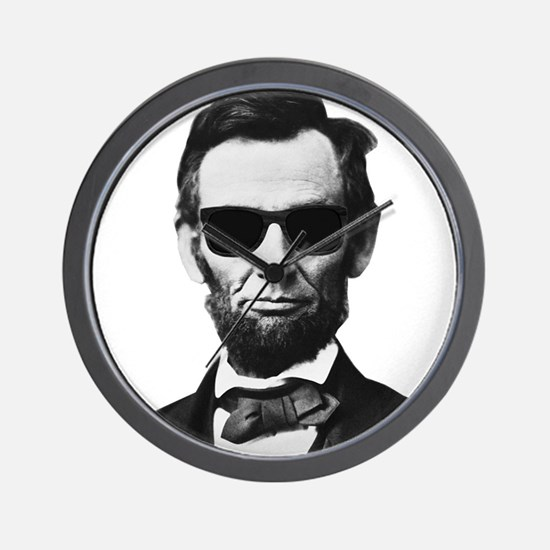 COOL LINCOLN Wall Clock
