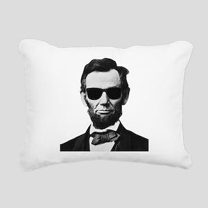 COOL LINCOLN Rectangular Canvas Pillow