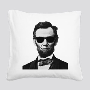 COOL LINCOLN Square Canvas Pillow
