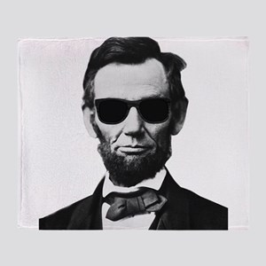 COOL LINCOLN Throw Blanket