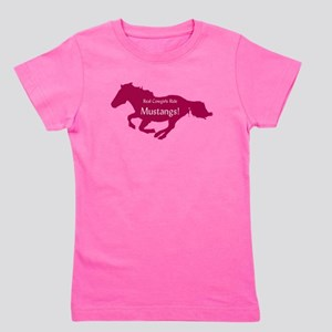 real cowgirls pink Girl's Tee