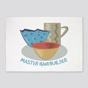Master Handbuilder 5'x7'Area Rug