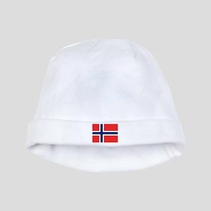 Norwegian Flag Baby Hat