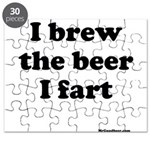 I brew the beer I fart Puzzle
