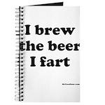 I brew the beer I fart Journal