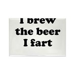 I brew the beer I fart Magnets