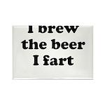 I brew the beer I fart Magnets