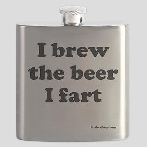 I brew the beer I fart Flask