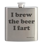 I brew the beer I fart Flask