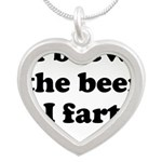 I brew the beer I fart Necklaces