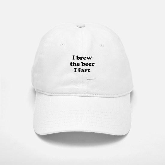 I brew the beer I fart Baseball Baseball Baseball Cap