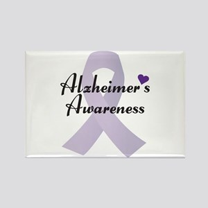 Alzheimers Awareness Ribbon Magnets