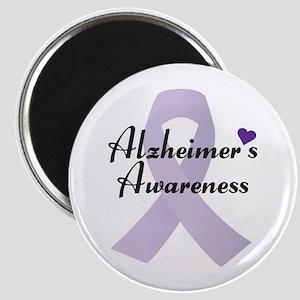 Alzheimers Awareness Ribbon Magnets