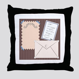 Stationery Throw Pillow