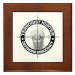 Terrorist Hunter Framed Tile