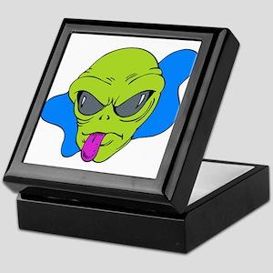 Silly Alien Razz Keepsake Box