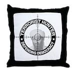 Terrorist Hunter Throw Pillow