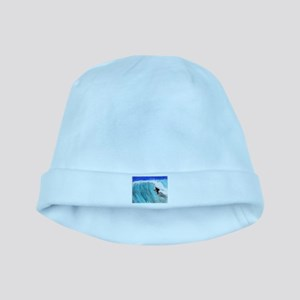 Surfer and Wave baby hat