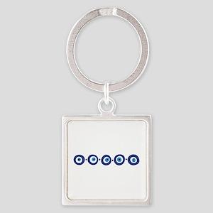 Eye Border Keychains
