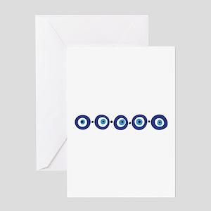 Eye Border Greeting Cards