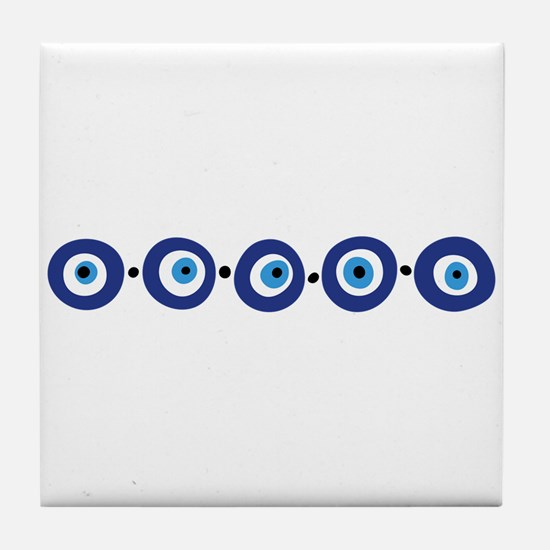 Eye Border Tile Coaster