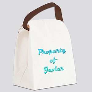 Property Of Javier Male Canvas Lunch Bag