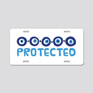 Protected Aluminum License Plate