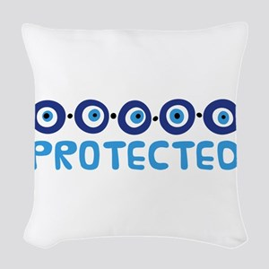 Protected Woven Throw Pillow