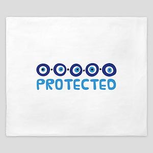 Protected King Duvet