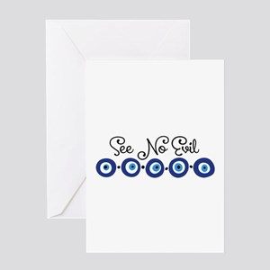 See No Evil Greeting Cards