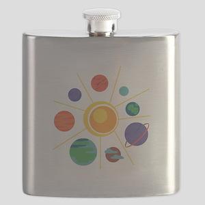 Solar System Flask