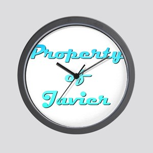 Property Of Javier Male Wall Clock