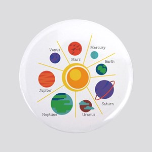 "Planet Names 3.5"" Button"