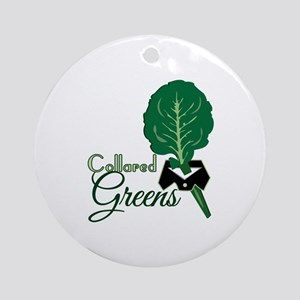 Collared Greens Ornament (Round)