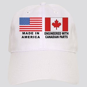 Engineered With Canadian Parts Cap