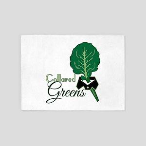 Collared Greens 5'x7'Area Rug
