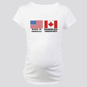Engineered With Canadian Parts Maternity T-Shirt