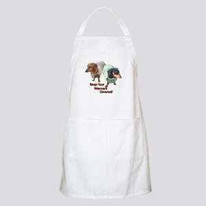 Wieners Covered Dachshunds BBQ Apron