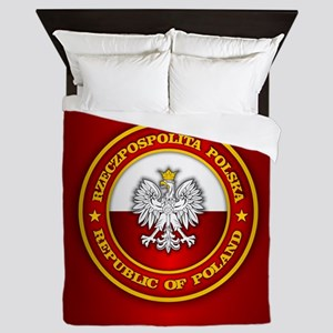 Polish Medallion Queen Duvet