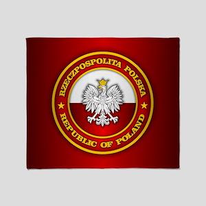 Polish Medallion Throw Blanket