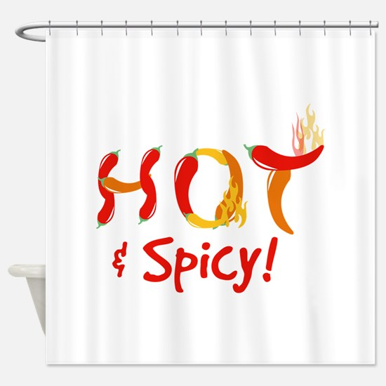 Hot & Spicy Shower Curtain