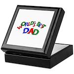 World's Best Dad Keepsake Box