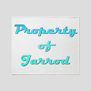 Property Of Jarrod Male Throw Blanket