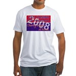 Leo for President Fitted T-Shirt