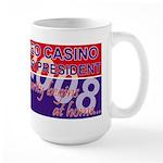Leo for President Large Mug