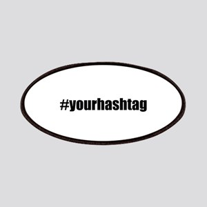 Customizable Hashtag Patches