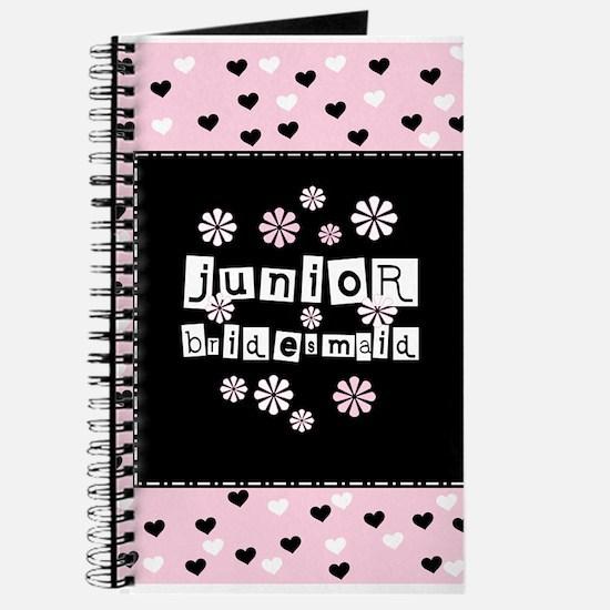 Hearts Junior Bridesmaid Journal