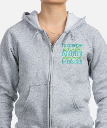 Lost in the Country Zip Hoodie