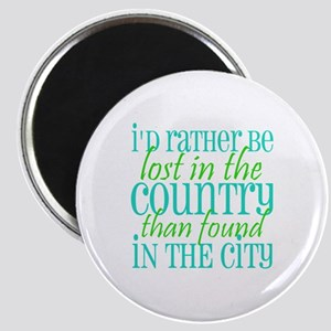 Lost in the Country Magnet