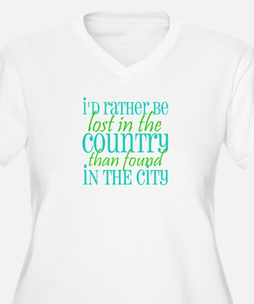 Lost in the Country Plus Size T-Shirt